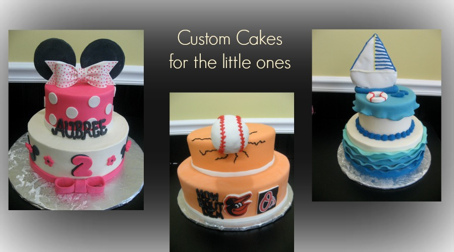 custom cakes for little ones fade