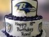 Ravens birthday cake