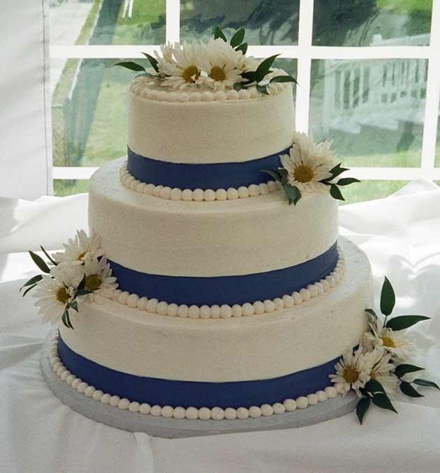 Wedding cakes tc bakery wedding cake ribbon junglespirit Gallery