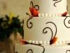 autumn-leaves-and-chocolate-swirls-wedding-cake